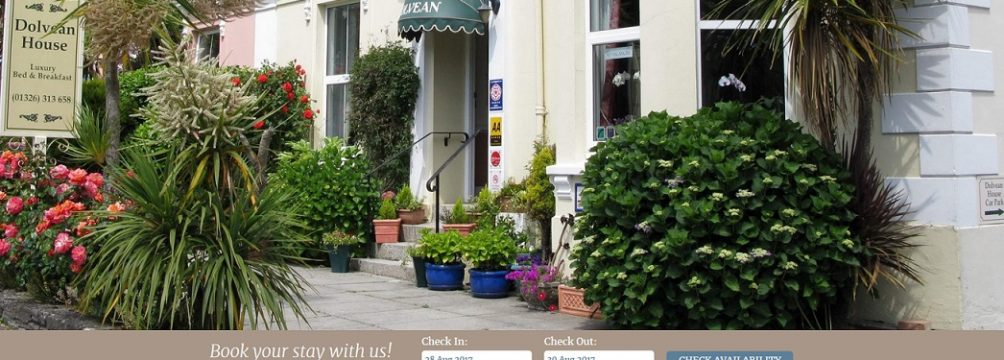 Dolvean House Website | Falmouth