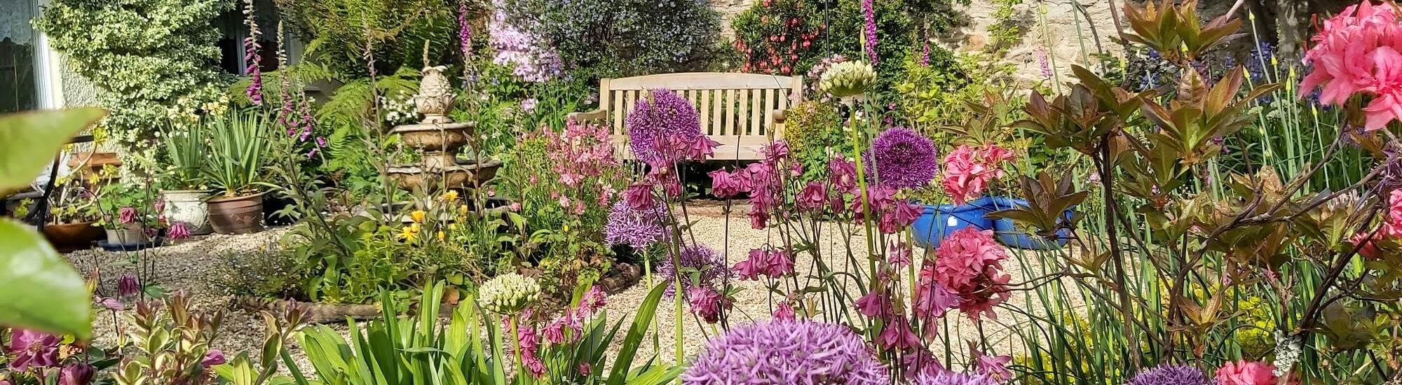 Dolvean House Victorian Garden